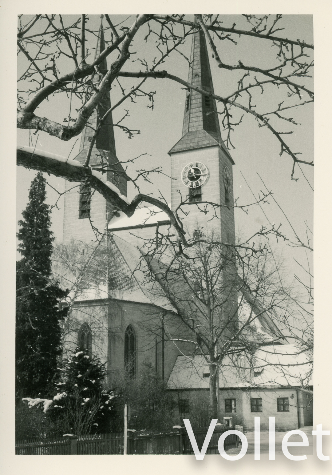 Anstaltskirche im Winter